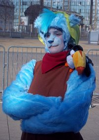 Cosplay-Cover: Gusto (Disneys Gummibärenbande)