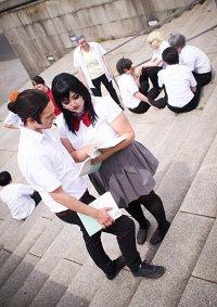 Cosplay-Cover: Asahi Azumane [Summer Schooluniform]