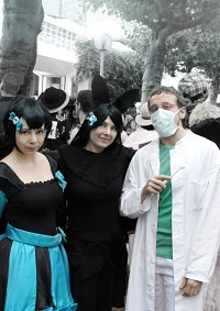 Cosplay-Cover: Dr. med. Jean-Pascal Dampierre [Grablicht]