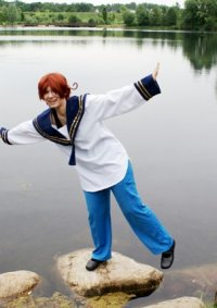 Cosplay-Cover: Feliciano Vargas (Italien - Trainingsoutfit)
