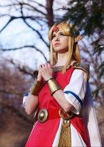 Cosplay-Cover: Prinzessin Zelda (a link between world