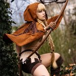 Cosplay: Elfin (Maple Scarlet Version)