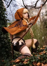 Cosplay-Cover: Elfin (Maple Scarlet Version)