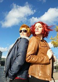 Cosplay-Cover: Natasha Romanoff - The Avengers Endszene