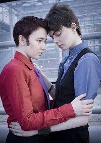 Cosplay-Cover: Ianto Jones (Red Shirt of Desire)