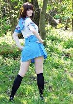 Cosplay-Cover: Haruhi Suzuzmiya (Sommeruniform)