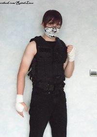 Cosplay-Cover: WWE-Dean Ambrose (SHIELD-Mask Version)