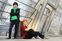 Cosplay-Cover: Robin in civvies/ Dick Grayson
