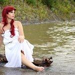 Cosplay: Arielle [Sail Dress - Uromas Bettlaken kann mega s