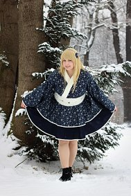 Cosplay-Cover: Kimono Dress [Snowflake]
