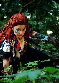 Cosplay-Cover: Aloy (Banuk sickness eater)
