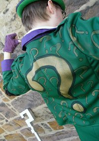 Cosplay-Cover: The Riddler [Arkham City]