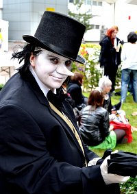 Cosplay-Cover: Oswald Chesterfield Cobblepot (Pinguin)
