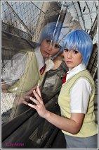 Cosplay-Cover: Rei Ayanami - alternative Schuluniform