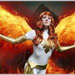 Cosplay: Jean Grey - White Phoenix