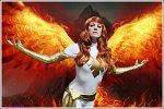 Cosplay-Cover: Jean Grey - White Phoenix