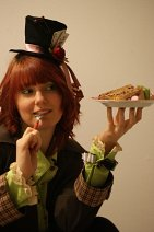 Cosplay-Cover: Mad Hatter (female ; eigenes Design)
