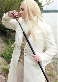 Cosplay-Cover: Lucius Malfoy (weiße version)