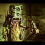 Cosplay: The Keeper (Boxman) (aus The Evil Within)