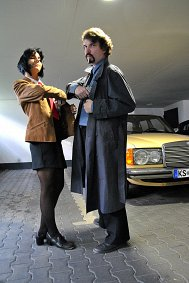Cosplay-Cover: Detective Roy Coleman