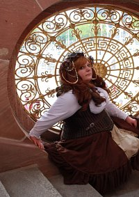 Cosplay-Cover: Susi (steampunk)