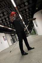 Cosplay-Cover: Negi Springfield older version suit up