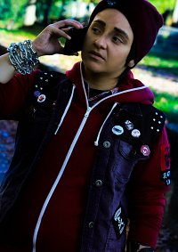 Cosplay-Cover: Delsin Rowe - Infamous: Second Son