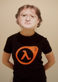 Cosplay-Cover: Gabe Newell