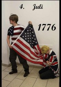 Cosplay-Cover: Alfred F. Jones / USA (Hetalia)