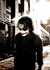 Cosplay-Cover: Joker (Dark Knight)