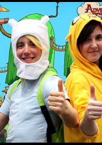 Cosplay-Cover: Finn the Human (Adventure Time)