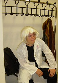 Cosplay-Cover: Dr. Clive