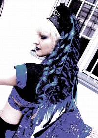 Cosplay-Cover: BlueBlack KimonoCyber