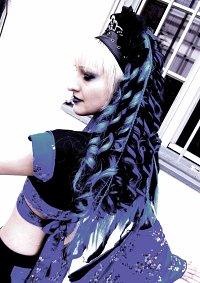 Cosplay-Cover: BlueBlack KimonoCyber