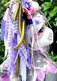Cosplay-Cover: NeoGeisha Violett