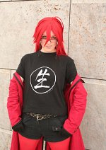 Cosplay-Cover: Grell Sutcliff ~ Backstage no Musical \m/