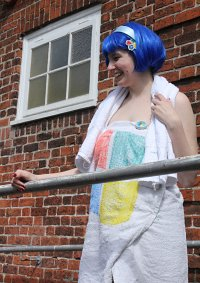 Cosplay-Cover: Windows 7-Tan (Towel edition)