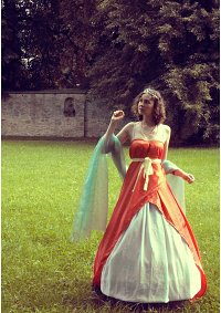 Cosplay-Cover: Prinzessin