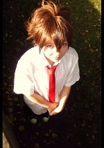 Cosplay-Cover: Tsunayoshi Sawada [Summer School Uniform]