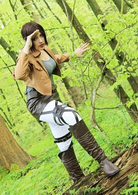 "Cosplay-Cover: Ymir ""Scouting Legion """