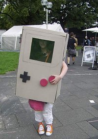 Cosplay-Cover: Game Boy
