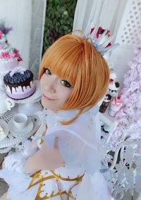 Cosplay-Cover: Sakura Kinomoto (White Snow Angel)