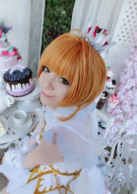 Cosplay-Cover: Sakura Kinomoto (White Snow Angel)