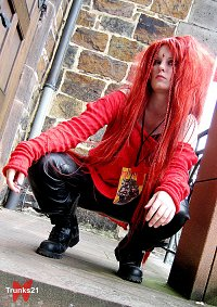 Cosplay-Cover: hide 50% 50% live [red Pullover]