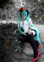 Cosplay-Cover: Miku Hatsune 『World is mine』