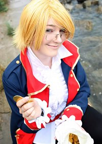 Cosplay-Cover: Alfred F Jones (Pirate Vers.)