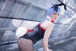 Cosplay-Cover: Rei Ayanami - Bunnysuit