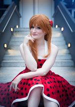 Cosplay-Cover: Asuka Langley Soryu [Polka Dots]