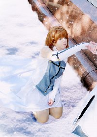 Cosplay-Cover: Sakura [Snow Dress]