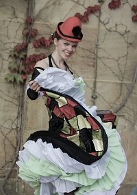 Cosplay-Cover: Harlequin (Moulin Rouge)